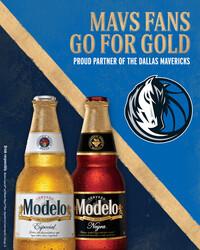 2021 Modelo Dallas Mavericks - Vertical Post - Social Asset - Online use only – not for print