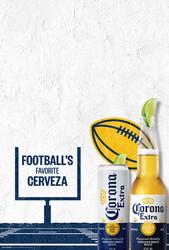 2021 Corona Extra Football Flow - Poster (English)