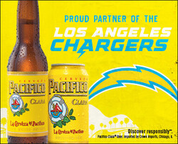 2021 Pacifico LA Chargers - eComm - No CTA - 382 x 310 - Online use only – not for print