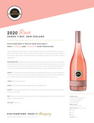 Kim Crawford 2020 Rosé NSRP Tasting Note - United States