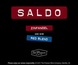 Saldo Zinfandel, Red Blend Rectangle Digital Banner - No CTA - 300x250 - For Online Use Only, Not for print or paid media