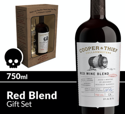 Cooper and Thief BBA Red Blend Gift Set 750ml Bottle Halloween Icon COPHI - Temporary Image