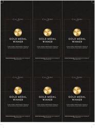 Casa Noble Reposado Holiday FY22 San Francisco World Spirits Competition Gold 6 Up Shelf Talker