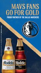 2021 Modelo Dallas Mavericks - Vertical Story - Social Asset - Online use only – not for print