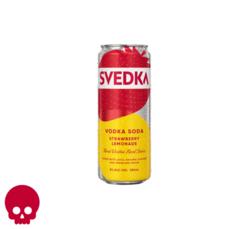 SVEDKA Strawberry Lemonade Vodka Soda 355ml Can Halloween No Text Icon COPHI - Temporary Image