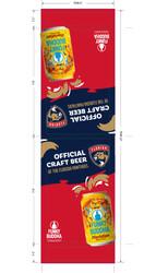 Funky Buddha - Panthers - FL Can - Menu Acrylic