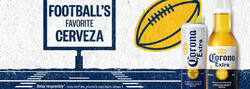 2021 Corona Extra Football Flow eComm - XL Banner - No CTA - 1680 x 600 - Online use only – not for print