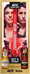 Modelo UFC Fight Night- Dern Vs Rodriguez Bottle Standee Template