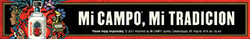 Mi CAMPO Day of the Dead Digital Banner - No CTA - 320x50 - For Online Use Only - Not for print or paid media