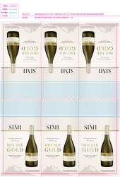 SIMI 2018 Russian River Valley Chardonnay Shelf Talker 2021 San Francisco Chronicle Wine Competition Double Gold