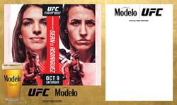 Modelo UFC Fight Night- Dern Vs Rodriguez Draft Banner Template