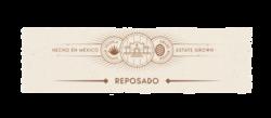 Casa Noble Reposado 750ml Neck Label - MOCKUP