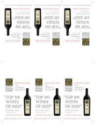 2017 Mount Veeder Winery Cabernet Sauvignon Shelf Talker Wine Spectator Top 100 Wines of 2020