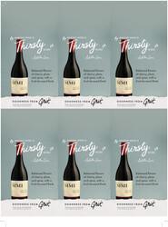 SIMI Pinot Noir Holiday FY22 6 Up Shelf Talker