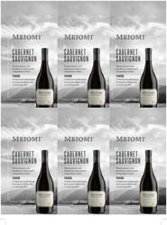 Meiomi Cabernet Sauvignon Holiday FY22 6 Up Shelf Talker