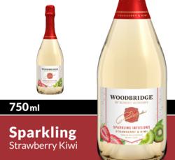 Woodbridge Sparkling Infusions Strawberry & Kiwi 750ml Bottle COPHI