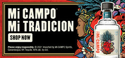 Mi CAMPO Day of the Dead Large Digital Banner - Shop Now CTA - 320x150 - For Online Use Only - Not for print or paid media