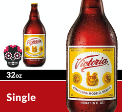 Victoria 32oz Bottle Halloween Icon COPHI - Temporary Image
