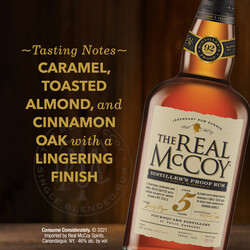 The Real McCoy 5Yr PDP Image - Tasting Note