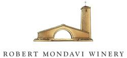 Robert Mondavi Winery Logo - Primary Gold,  Black