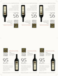 2018 Mount Veeder Winery Cabernet Sauvignon Shelf Talker James Suckling 95 points