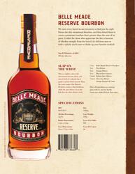 Belle Meade Bourbon Reserve Sell Sheet