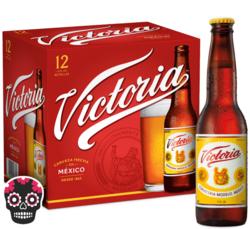 Victoria 12oz Bottle 12pk Halloween No Text Icon COPHI - Temporary Image