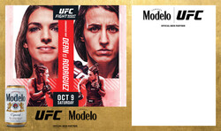 Modelo UFC Fight Night- Dern Vs Rodriguez Can Banner Template