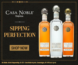 Casa Noble Sipping Perfection Rectangle Digital Banner - Shop Now CTA – 300x250 - For Online Use Only - Not for print or paid media