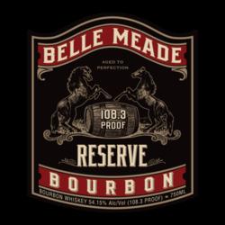 Belle Meade Bourbon Reserve 750ml Front Label