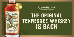 Nelson's Green Brier Tennessee Whiskey Banner