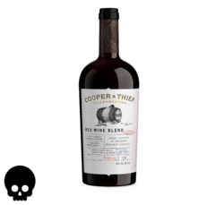Cooper and Thief BBA Red Blend 750ml Bottle Halloween No Text Icon COPHI - Temporary Image