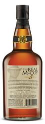 The Real McCoy® Distiller's Proof 5 Year Single Blended Aged Rum 750ml 92 Proof Bottle Shot - Back
