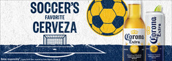 2021 Corona Extra Soccer Flow eComm - XL Banner - No CTA - 1680 x 600 - Online use only – not for print