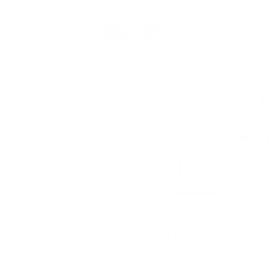 Copper & Kings Roundel Logo - Orange