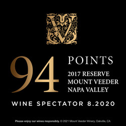 Mount Veeder Winery Reserve EdPi Image - Award
