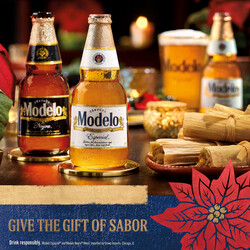 2021 Modelo Holiday - Square Post Version 1 - Social Asset - Online use only – not for print