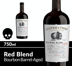 Cooper and Thief BBA Red Blend 750ml Bottle Halloween Icon COPHI - Temporary Image