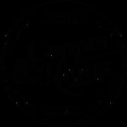 Copper & Kings Roundel Logo - Black