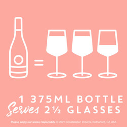 Kim Crawford Rose 375ml Bottle PDP Image - Size