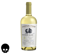 Cooper and Thief Sauvignon Blanc 750ml Bottle Halloween No Text Icon COPHI - Temporary Image