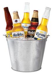Corona Extra Corona Light Modelo Pacifico Bucket