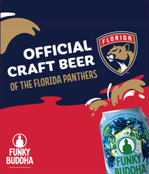 Funky Buddha - Panthers - HG Can - Case Card
