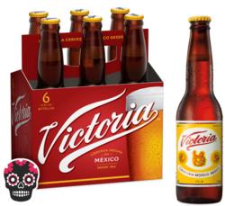 Victoria 12oz Bottle 6pk Halloween No Text Icon COPHI - Temporary Image