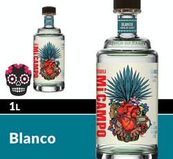 Mi CAMPO Blanco 1L Bottle Halloween Icon COPHI - Temporary Image