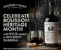 2018 Cooper & Thief California Red Blend Summer FY22 Rectangle Digital Banner - No CTA - 300x250 - Online Use Only, Not for print