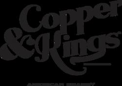 Copper & Kings Stacked Logo - Black