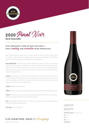 Kim Crawford 2020 Pinot Noir NSRP Tasting Note - International