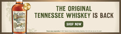 Nelson's Green Brier Tennessee Whiskey 750ml Bottle FY22 Digital Banner - Shop Now CTA - 1930x545 - For Online Use Only - Not For Print Or Paid Media