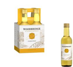 Woodbridge Chardonnay FY22 187ml Plastic Bottle 4 pk COPHI - No Text